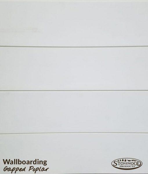 Gapped Poplar Paneling
