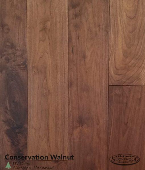 Prefinished Engineered Walnut Flooring - Conway