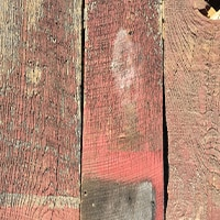 Red Reclaimed Barnboard Swatch