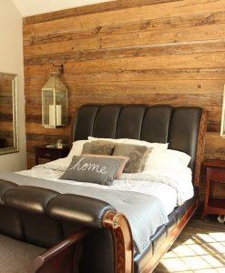 Farm Wood Reclaimed Wallboarding Bedroom Wall Accent