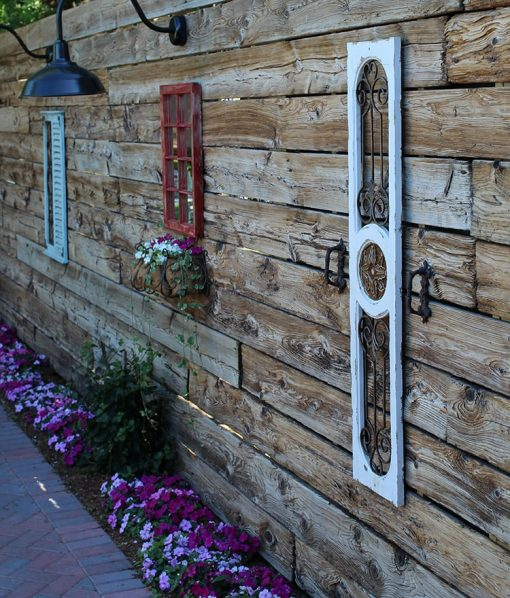 Farm Wood Reclaimed Wallboarding Exterior Wall