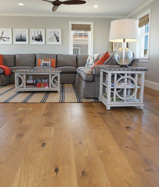 prefinished hardwood floor living room