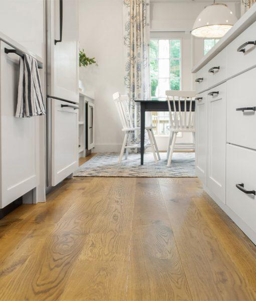 prefinished hardwood floor kitchen