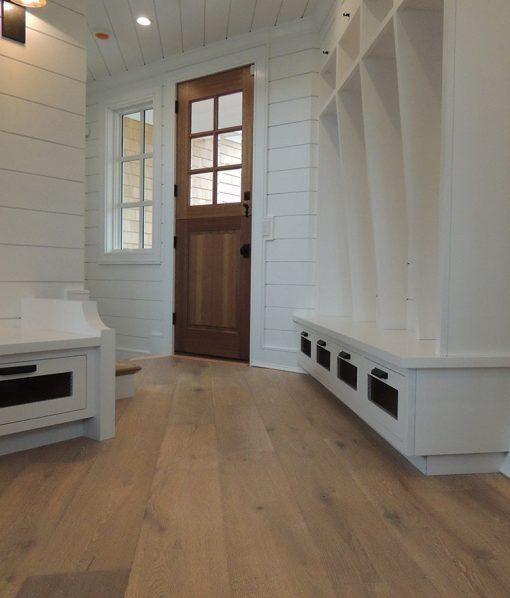 Structured Wide Plank Floors - Miacomet installed near doorway