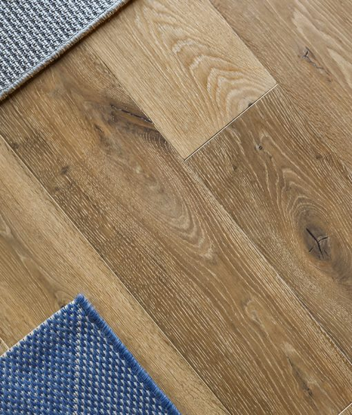 Structured Wide Plank Floors - Miacomet installed in kitchen