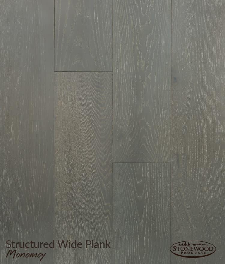 Wide Plank Oak Flooring - Structured Monomoy by Sawyer Mason