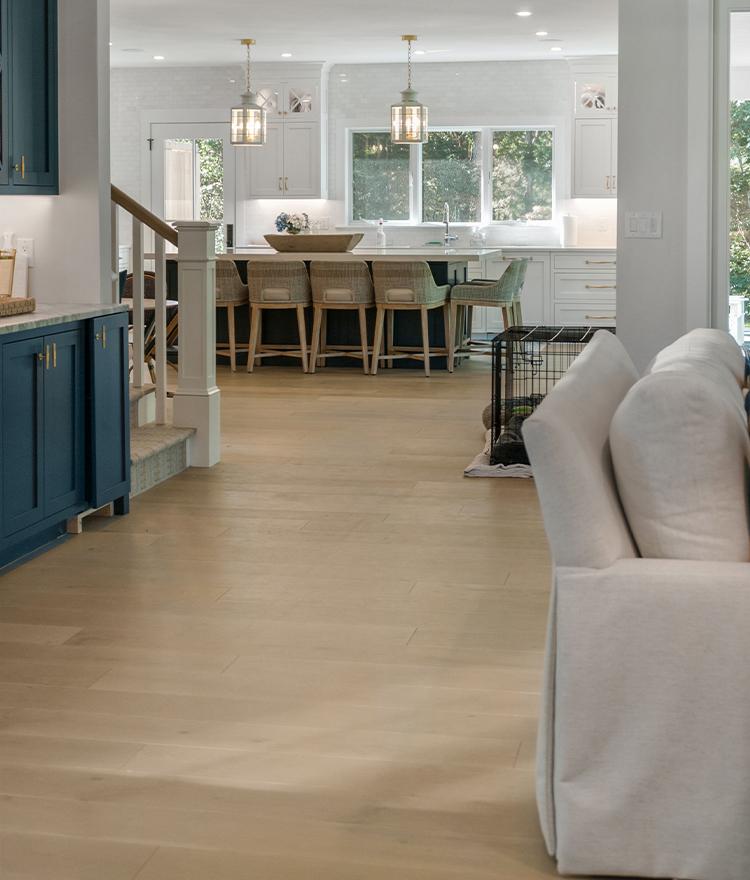 Prefinished Engineered Hardwood Wide Plank Floor Fogg