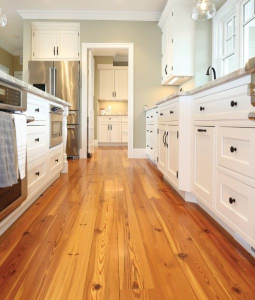 heart-pine- wide wood-flooring