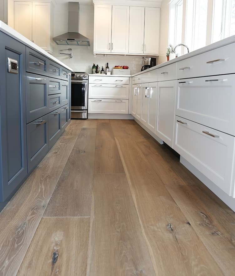 engineered wood flooring kitchen traditional styled home sawyer wide plank madaket 7060
