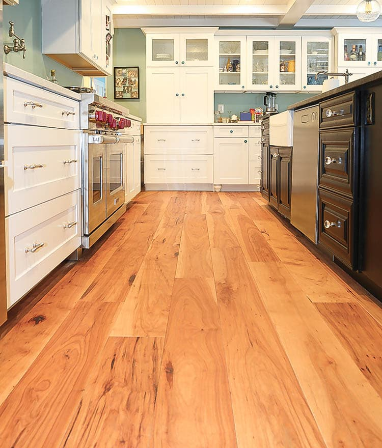Wide Plank Flooring Hickory Pecan