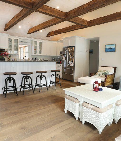 Prefinished hardwood wide plank flooring copley
