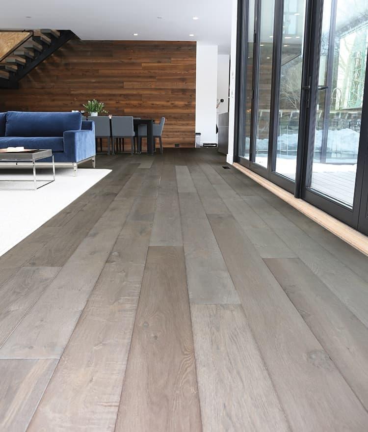 Prefinished Wide Wood Plank Flooring Madison