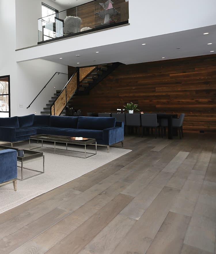 Prefinished Wide Wood Plank Flooring Boston