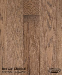 prefinished red oak wickham collection