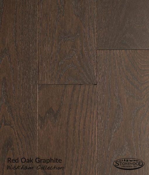 wirebrushed red oak flooring