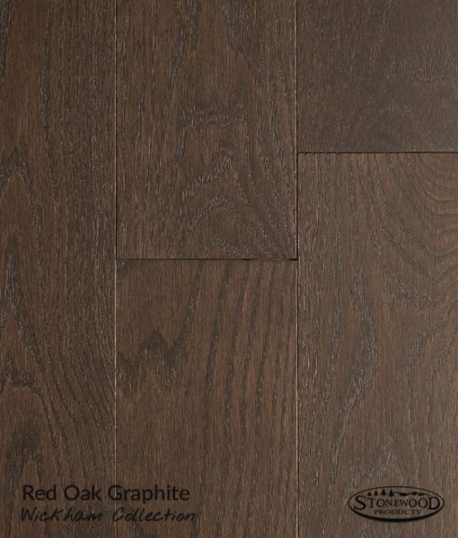 wirebrushed red oak flooring