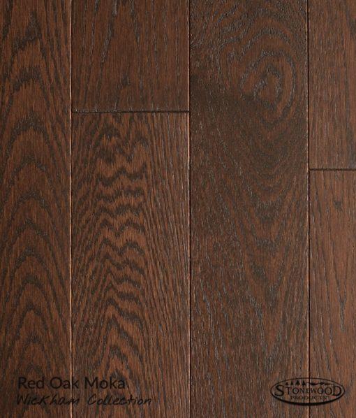 hardwood red oak flooring wickham moka