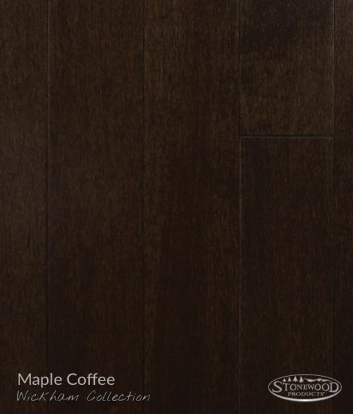Dark Wood Floors Prefinished Maple Wickham Collection