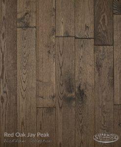 hardwood red oak floor wickham