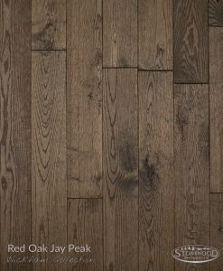 hardwood red oak floor wickham