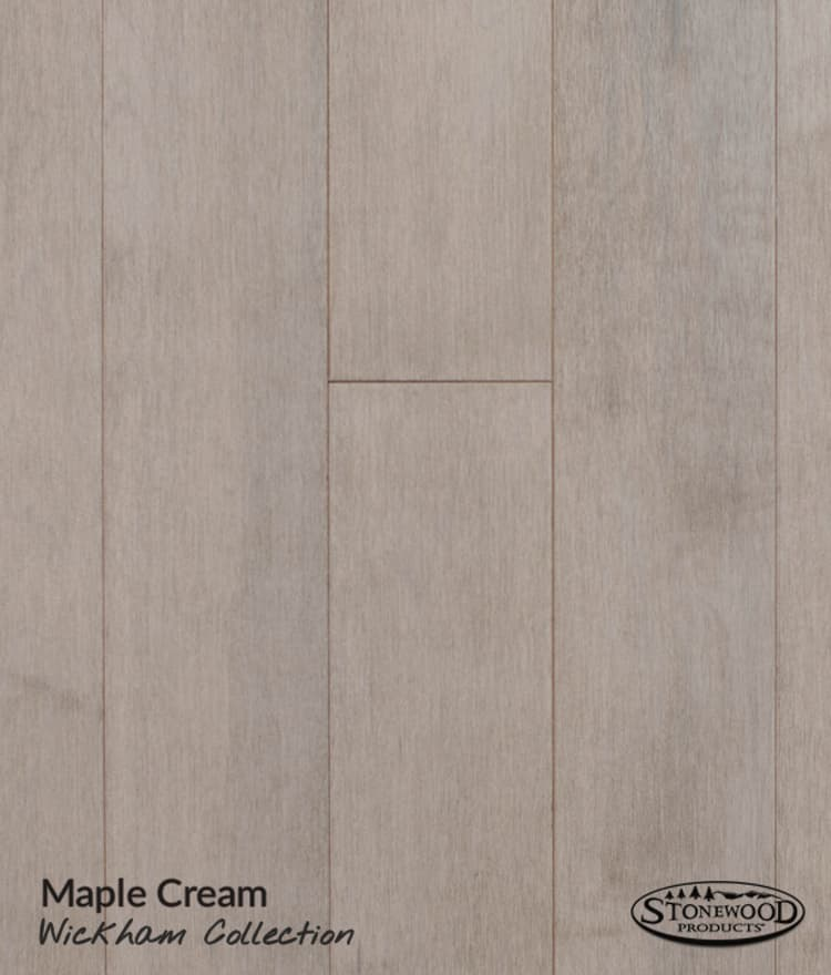 Grey Wood Floors Prefinished Maple Wickham Collection