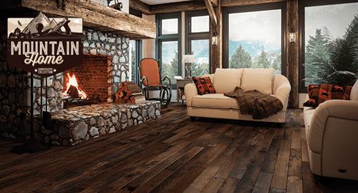 Mountain Home Collection Wickham Prefinished Hardwood Floors