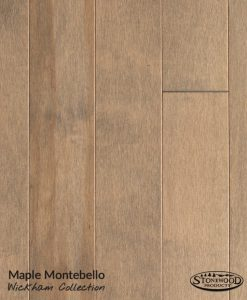 prefinshed maple engineered flooring montebello