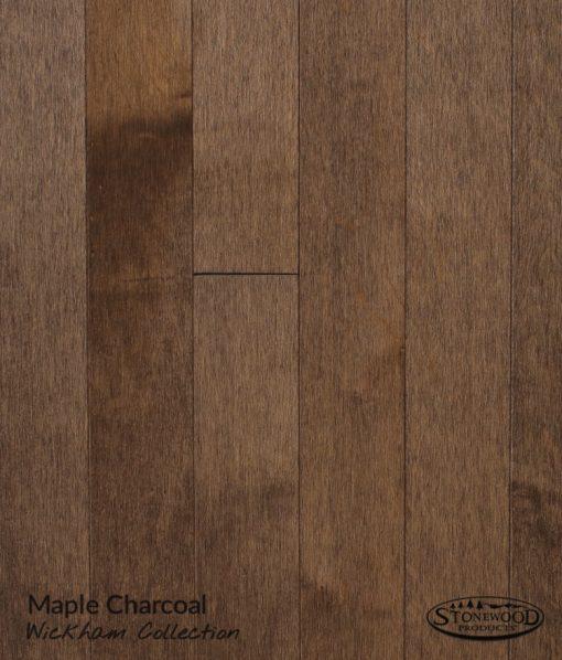 solid wood flooring charcoal