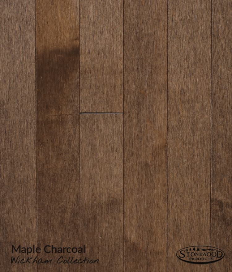 Solid Wood Flooring Prefinished Maple Wickham Collection