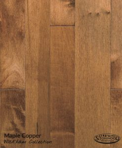 prefinished hard wood floors copper