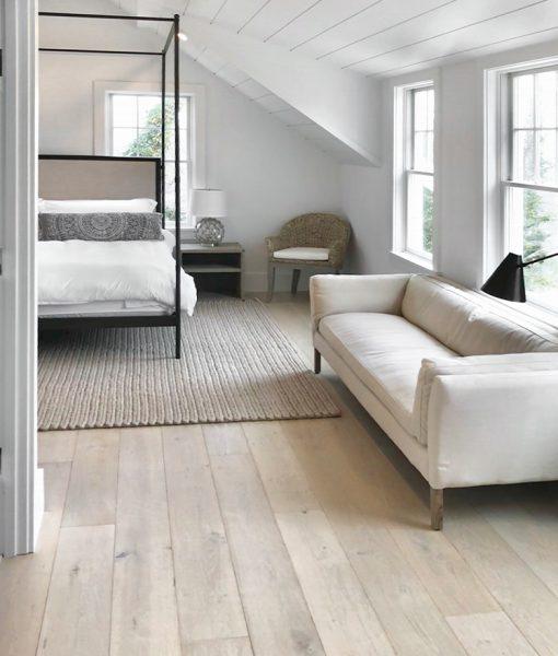 hardwood light plank flooring dune