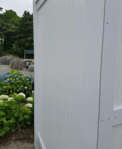 PVC Outdoor Shower Kit Enclosures
