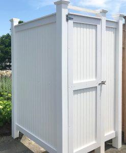 Standard PVC Freestanding Outdoor Shower