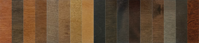 Wickham Western Birch Color Swatches