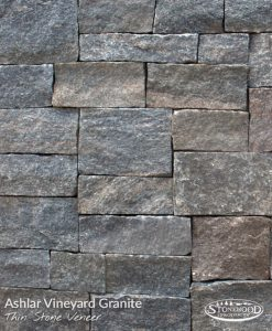 Stone Veneer Siding - Vineyard Granite Ashlar