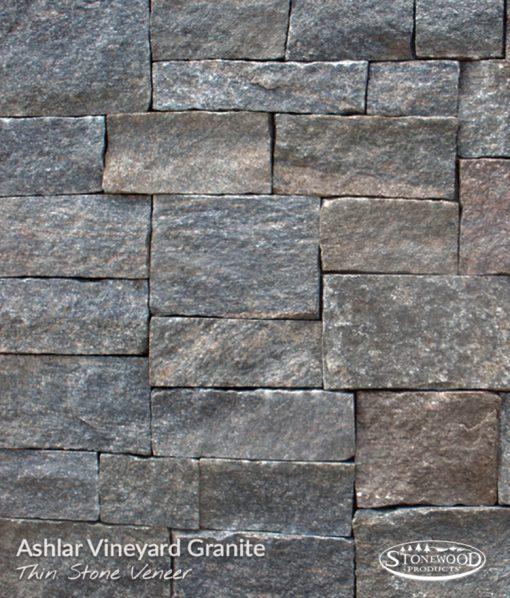 Stone Veneer Siding - Vineyard Granite Ashlar