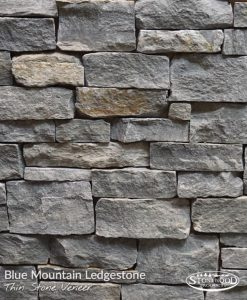 Blue Mountain Ledgestone Veneer Stones