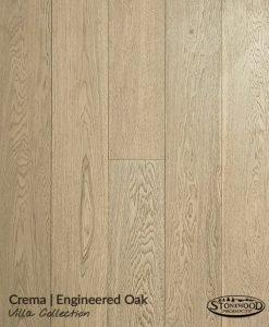 Engineered Oak Flooring - Crema - Villa Collection