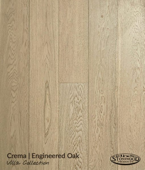 Engineered Oak Flooring - Crema - Villa Collection