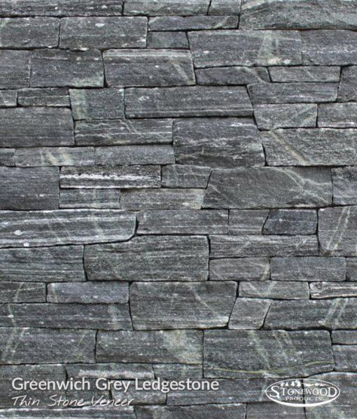 Greenwich Grey Ledgestone Stone Veneer