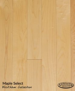 Prefinished Maple Natural Wood Flooring