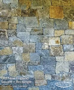 Old New England Square + Rectangle Stone Veneer Cape Cod