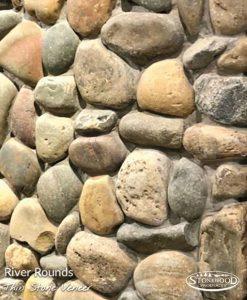 River Round Real Stone Veneer