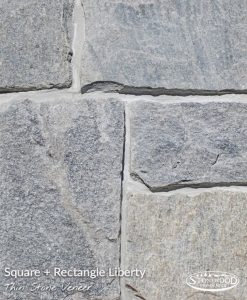 Stone Veneer Siding Liberty Square + Rectangle