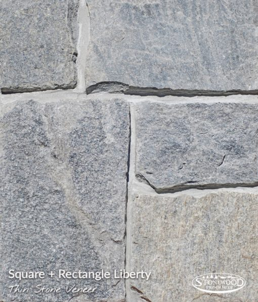 Stone Veneer Siding Liberty Square + Rectangle