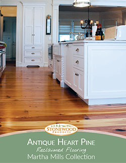 Download our Antique Heart Pine Brochure