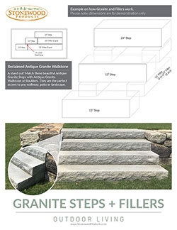 Download our Granite Steps + Fillers Handout