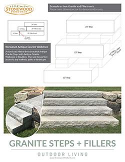 Download our Granite Steps + Fillers Handout