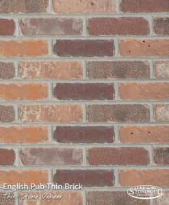English Pub Thin Brick Veneer