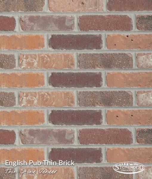 English Pub Thin Brick Veneer